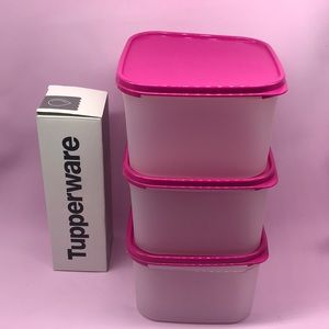 New Tupperware Modular Mates Containers 3 Pieces